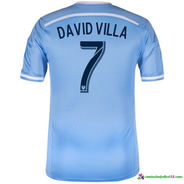 David Villa Camiseta 1ª Kit New York City 2016 2017